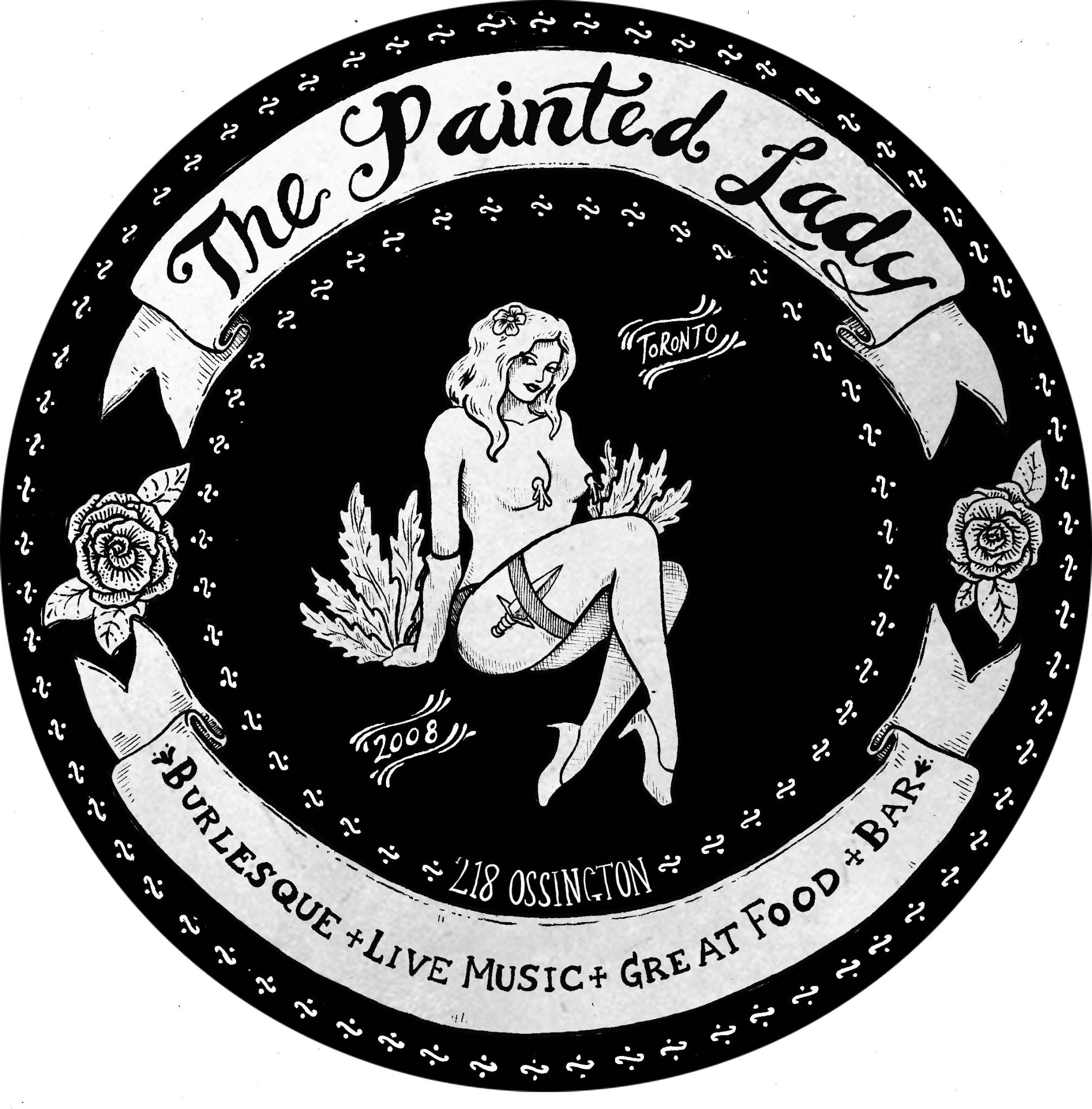 The Painted Lady: Rock'nRoll Funk'n'Soul Burlesque & Absinthe House